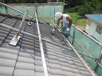 屋根 4回塗装