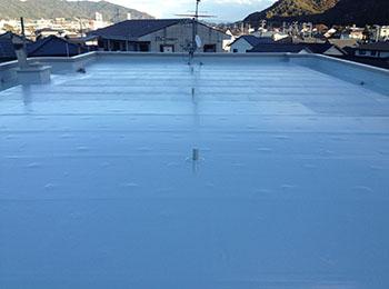 屋上 防水完了