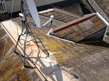屋根 カラーベスト 施工前