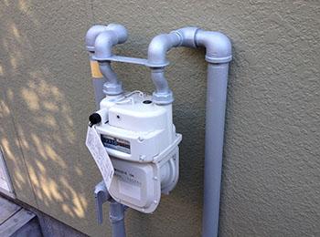 ガス管 亜鉛メッキ塗装