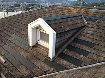 屋根 差し替え補修