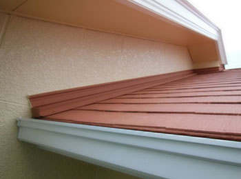 屋根 水性無機ハイブリッド消熱塗料 施工後