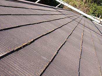 屋根 カラーベスト施工前