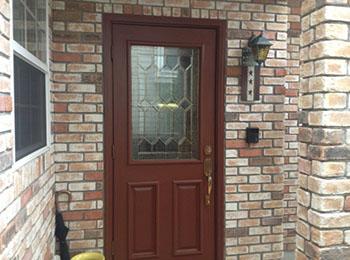 玄関ドア 塗装完了