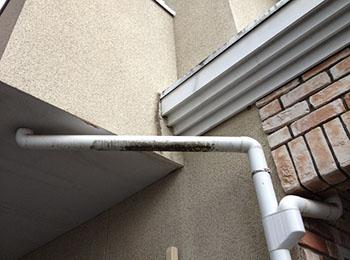 雨樋の汚れ・劣化