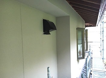 二階外壁 完了