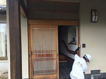 玄関ドア現状