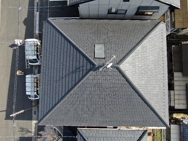 屋根全景 寄棟