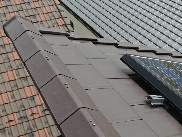 屋根棟の釘浮き画像