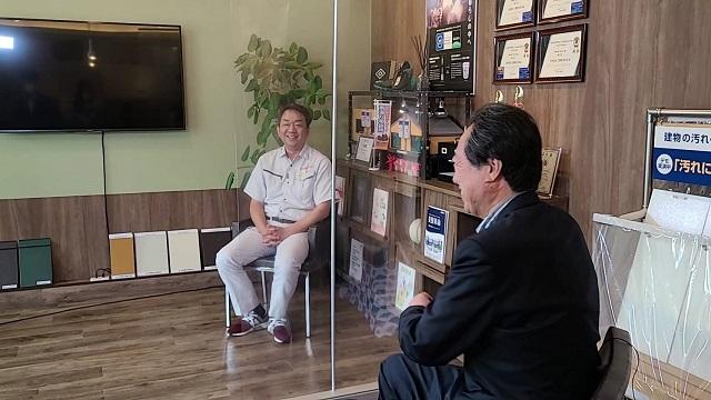 川島宏治のTHEひろしまインタビュー画像