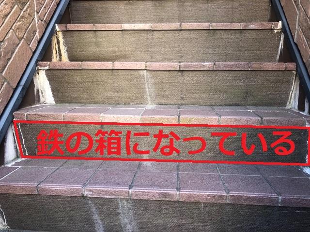 鉄骨階段の構造